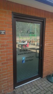 Cut and Printed Window Graphics